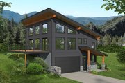 Country Style House Plan - 2 Beds 2 Baths 2016 Sq/Ft Plan #932-380