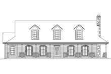 House Plan Design - Country Exterior - Front Elevation Plan #57-641