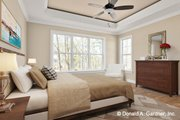 Cottage Style House Plan - 4 Beds 3 Baths 2458 Sq/Ft Plan #929-1108 Interior - Master Bedroom