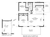 Contemporary Style House Plan - 3 Beds 2 Baths 1559 Sq/Ft Plan #932-435