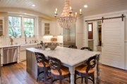 Country Style House Plan - 3 Beds 3.5 Baths 3043 Sq/Ft Plan #928-13 Interior - Kitchen