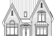 Dream House Plan - European Exterior - Other Elevation Plan #23-390