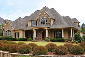 Home Plan - Traditional Exterior - Front Elevation Plan #437-56