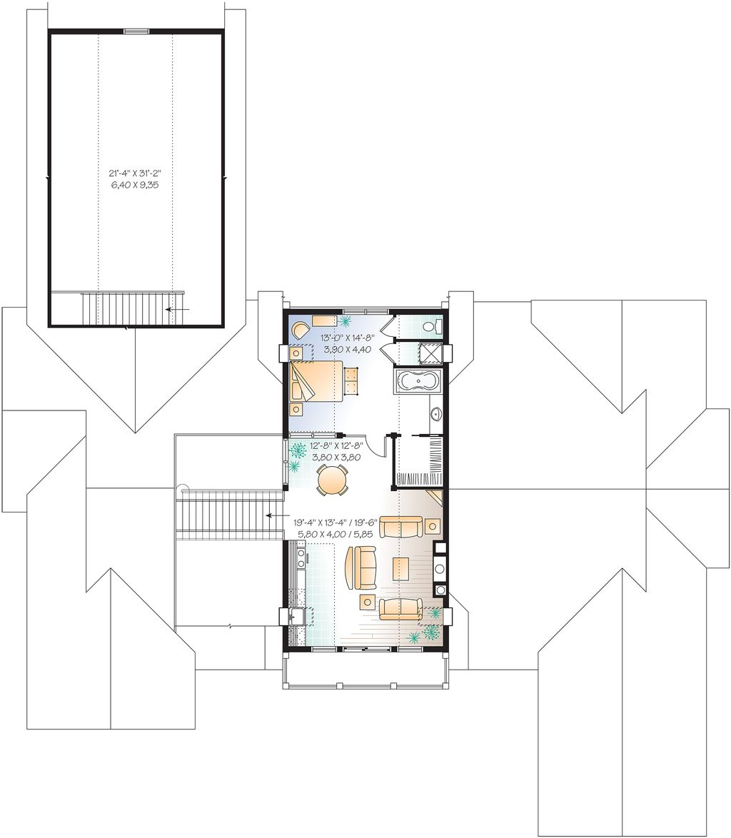 upper level 9000 square foot beach home - 9000 Square Feet House Plans