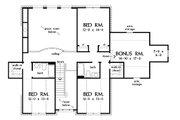 Country Style House Plan - 4 Beds 3.5 Baths 3167 Sq/Ft Plan #929-12 Floor Plan - Upper Floor Plan