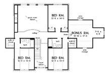 Country Floor Plan - Upper Floor Plan Plan #929-12