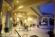 Mediterranean Style House Plan - 4 Beds 6.5 Baths 5265 Sq/Ft Plan #930-190 Exterior - Rear Elevation