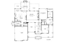 Traditional Floor Plan - Main Floor Plan Plan #437-56
