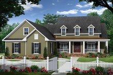 Architectural House Design - Ranch Exterior - Front Elevation Plan #21-453