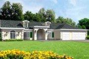 Adobe / Southwestern Style House Plan - 4 Beds 2.5 Baths 2815 Sq/Ft Plan #1-690