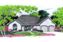 Home Plan - European Exterior - Front Elevation Plan #45-245