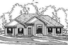 Home Plan - Traditional Exterior - Front Elevation Plan #31-126