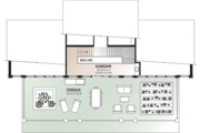 Beach Style House Plan - 3 Beds 2.5 Baths 2527 Sq/Ft Plan #23-1031 Floor Plan - Upper Floor Plan