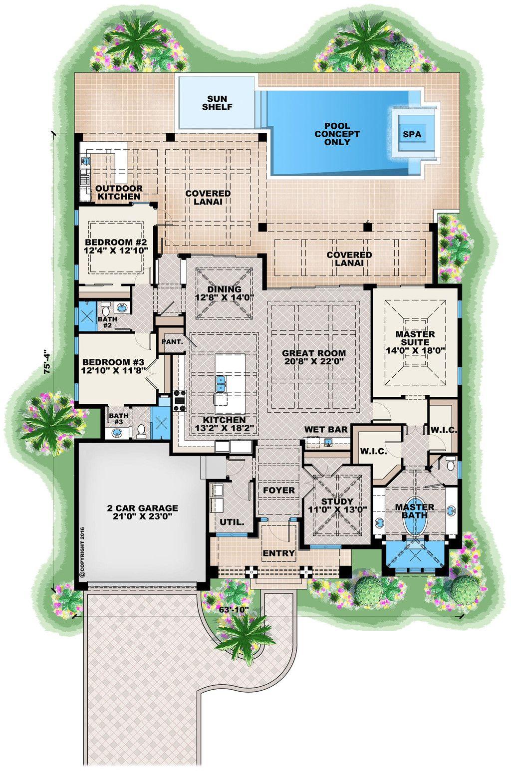 Contemporary Floor Plan Main 27 551
