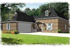 House Plan Design - European Exterior - Front Elevation Plan #15-282