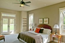 Craftsman Interior - Master Bedroom Plan #48-542