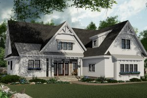 House Plan Design - Farmhouse Exterior - Front Elevation Plan #51-1151