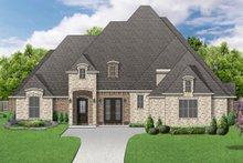 Dream House Plan - Traditional Exterior - Front Elevation Plan #84-603