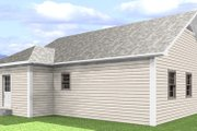 Cottage Style House Plan - 2 Beds 1 Baths 864 Sq/Ft Plan #44-114 Exterior - Other Elevation