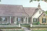 Country Style House Plan - 3 Beds 2 Baths 1830 Sq/Ft Plan #310-215 Exterior - Other Elevation