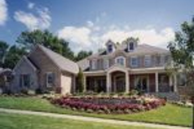 Colonial Photo Plan #46-104 - Houseplans.com