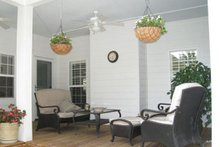 Dream House Plan - Country Exterior - Covered Porch Plan #44-155