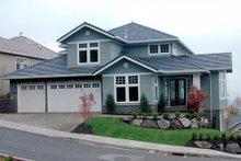 Craftsman Exterior - Front Elevation Plan #48-354