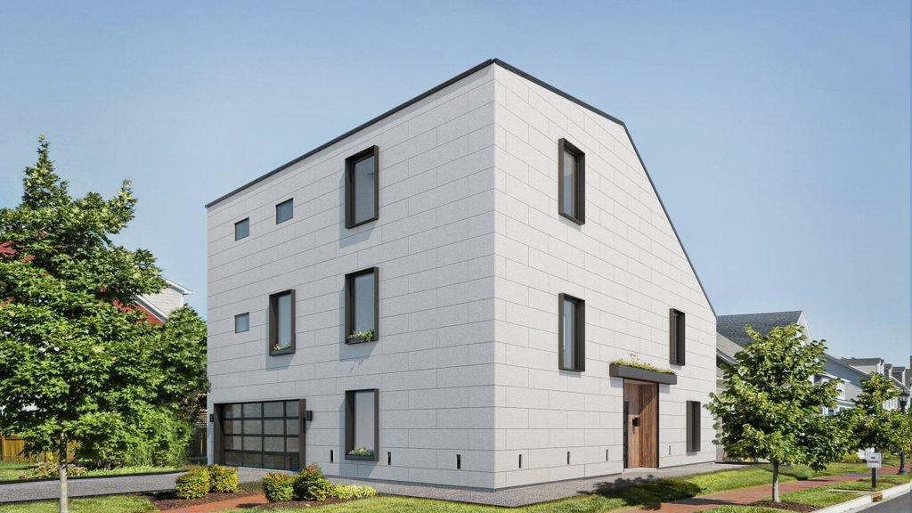 Modern Style House Plan 3 Beds 3 5 Baths 2574 Sq Ft Plan 1076 2 Eplans Com