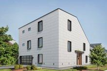 Dream House Plan - Modern Exterior - Front Elevation Plan #1076-2