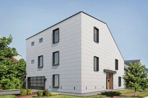 Modern Exterior - Front Elevation Plan #1076-2