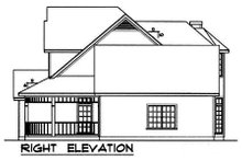 Country Exterior - Other Elevation Plan #40-128