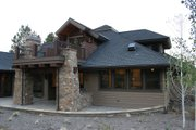 Craftsman Style House Plan - 4 Beds 3.5 Baths 3476 Sq/Ft Plan #892-7 Exterior - Other Elevation