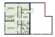 Country Style House Plan - 3 Beds 2.5 Baths 2575 Sq/Ft Plan #17-2459 Floor Plan - Lower Floor Plan