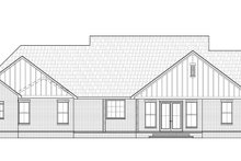 Farmhouse Exterior - Rear Elevation Plan #1074-15