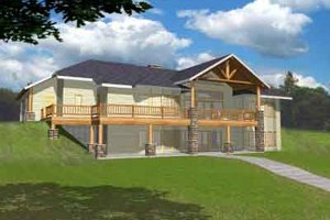House Plan Design - Modern Exterior - Front Elevation Plan #117-457