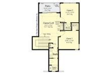 Country Floor Plan - Upper Floor Plan Plan #930-495