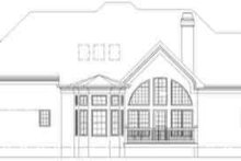 Dream House Plan - European Exterior - Rear Elevation Plan #119-195
