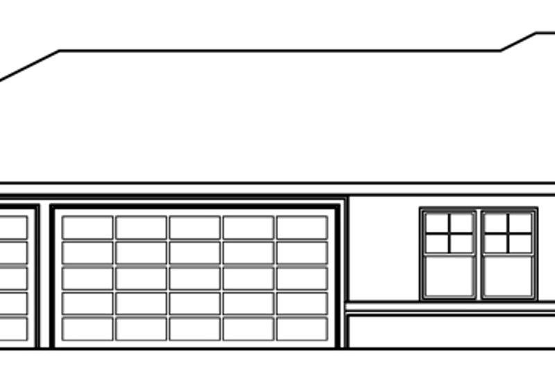 Exterior - Other Elevation Plan #124-370 - Houseplans.com