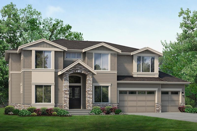 House Plan Design - Traditional Exterior - Front Elevation Plan #1066-70