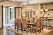 Country Style House Plan - 4 Beds 4.5 Baths 5274 Sq/Ft Plan #928-12 Interior - Dining Room