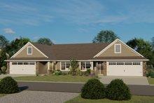 Home Plan - Craftsman Exterior - Front Elevation Plan #1064-38