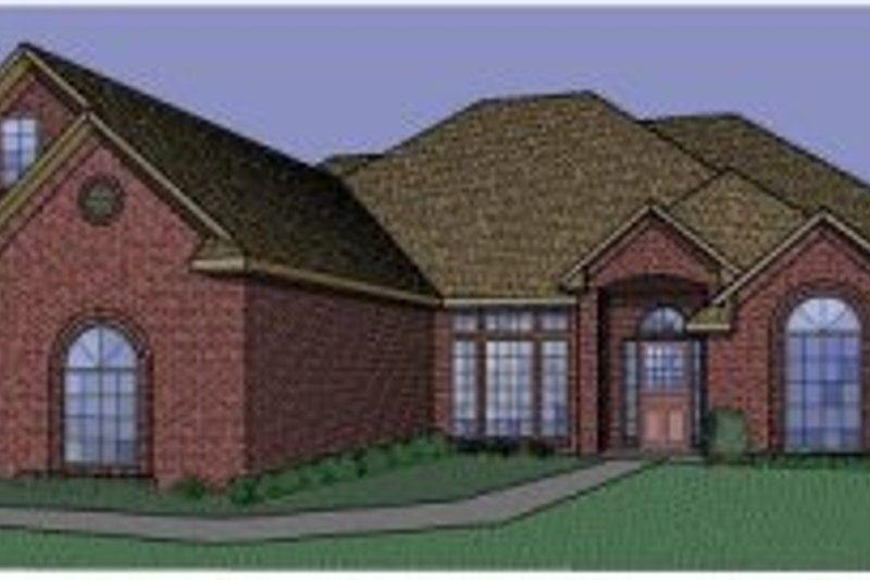 Traditional Style House Plan - 3 Beds 3 Baths 2718 Sq/Ft Plan #65-353