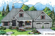 Victorian Exterior - Front Elevation Plan #929-427