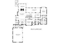 European Floor Plan - Main Floor Plan Plan #413-890