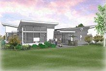 Modern Exterior - Rear Elevation Plan #48-479
