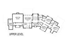 Craftsman Floor Plan - Upper Floor Plan Plan #920-23