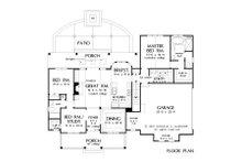 Farmhouse Floor Plan - Main Floor Plan Plan #929-1044