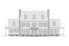 House Plan Design - Colonial Exterior - Front Elevation Plan #932-1