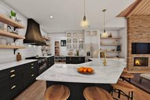 Home Plan - Contemporary Interior - Dining Room Plan #48-987