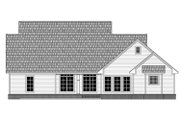 Country Style House Plan - 4 Beds 2.5 Baths 2393 Sq/Ft Plan #21-378 Exterior - Rear Elevation